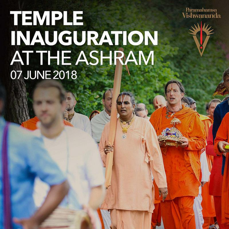 Temple Inauguration at The Ashram - Shree Peetha Nilaya