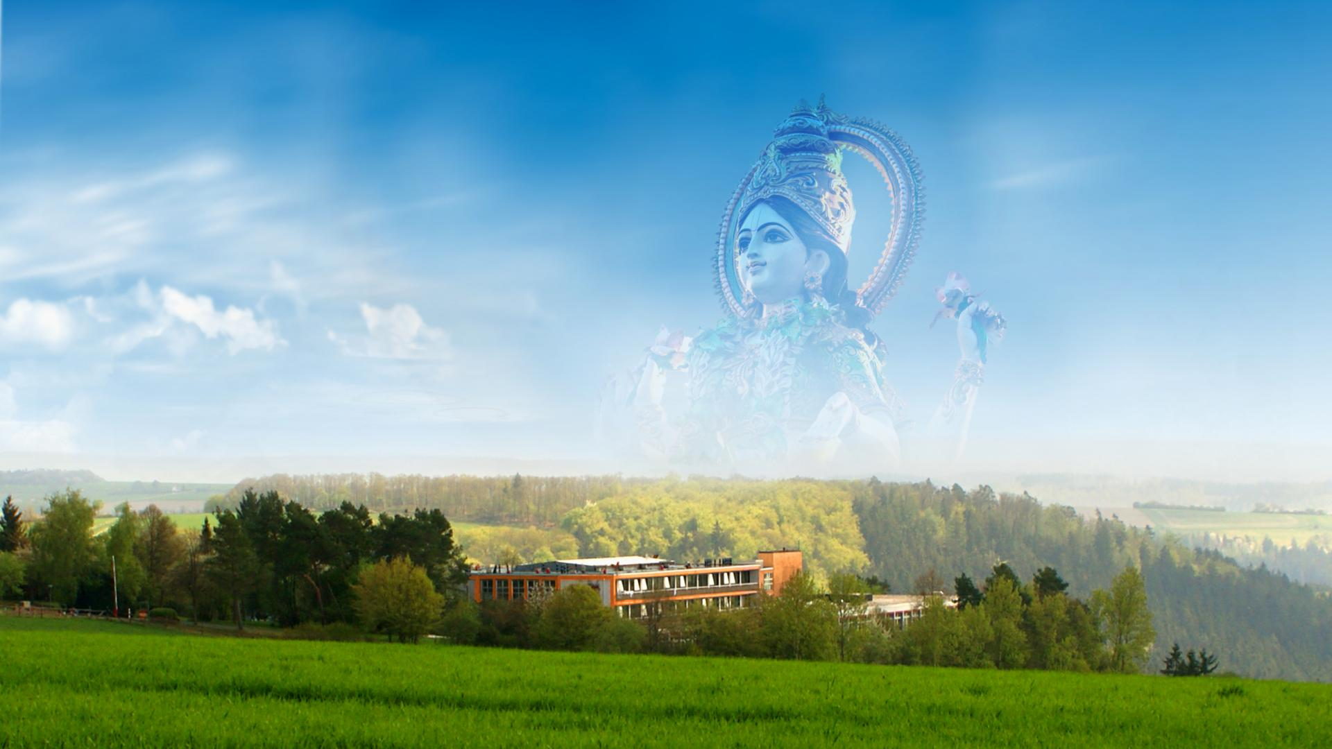 Ashram, Valley and Lakshmi - Shree Peetha Nilaya
